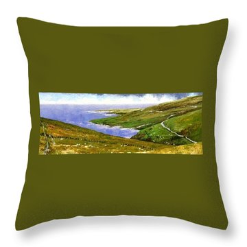 Donegal Coast Throw Pillow