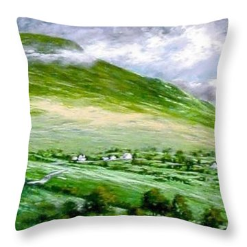 Donegal Hills Throw Pillow