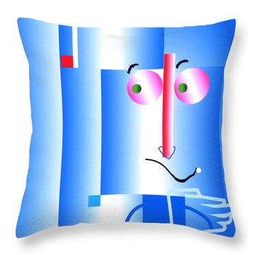 Throw Pillow featuring the digital art Don't Blame Me by Mary Armstrong