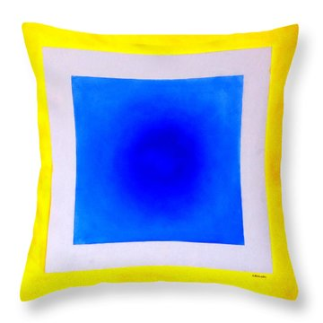 Throw Pillow featuring the painting Don't Conform by Thomas Gronowski