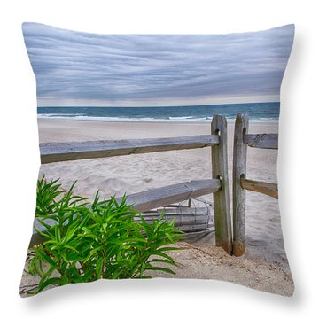 Don't Fence Me In Throw Pillow by Mark Miller