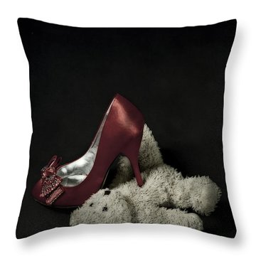Don't Step On Me Throw Pillow by Joana Kruse