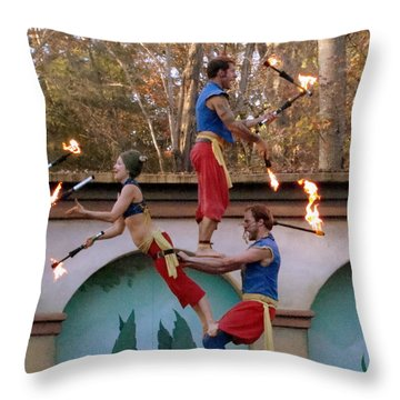 Don't Try This At Home Throw Pillow