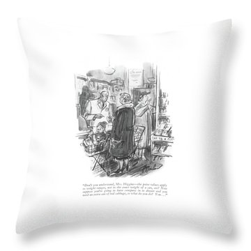Don't You Understand Throw Pillow