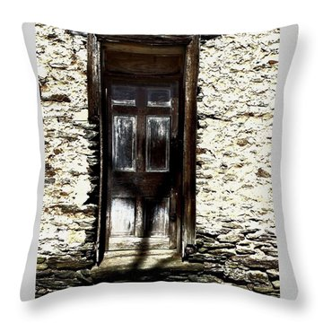 Door 3769 Throw Pillow