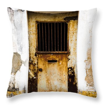 Door No 48 Throw Pillow