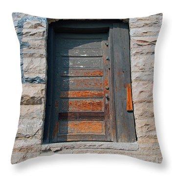 Door Series 2 Throw Pillow