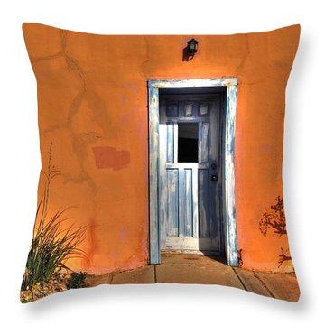 Florence Door 031911 Throw Pillow