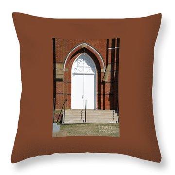 Door To Heaven Throw Pillow