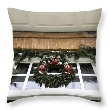 Door Trim Governors Palace Throw Pillow