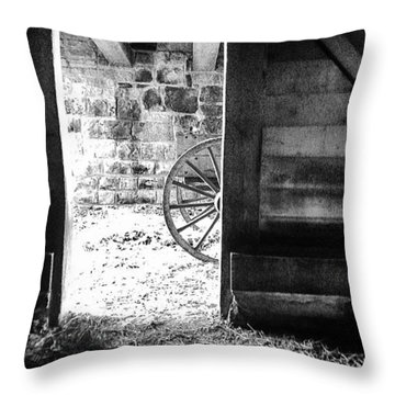 Doorway Through Time Throw Pillow
