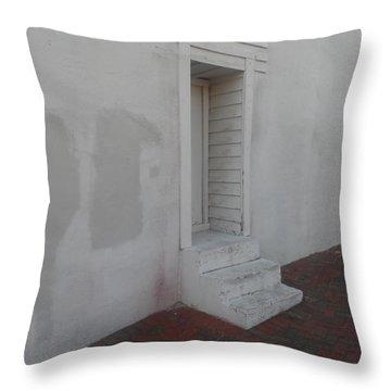 Doorway Aslant Throw Pillow
