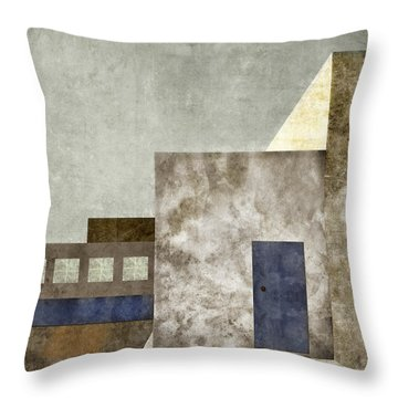 Doorway To Geometry Throw Pillow