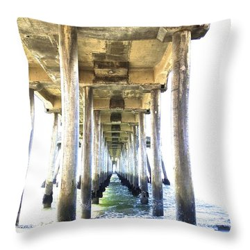 Doorway To Heaven II Throw Pillow by Margie Amberge