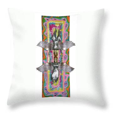 Doorway To Heaven Throw Pillow