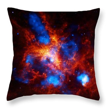 Doradus Nebula Throw Pillow