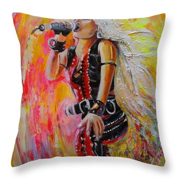 Doro Pesch Throw Pillow