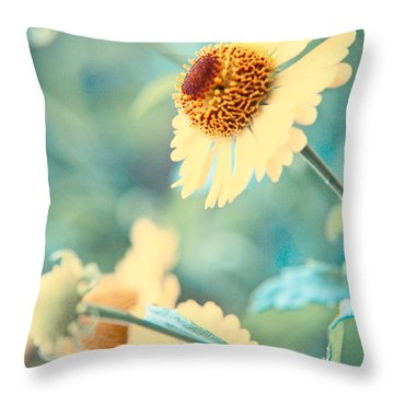 Doronicum Throw Pillow