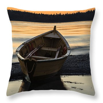 Dory At Dawn Throw Pillow by Marty Saccone