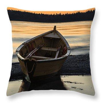 Dory At Dawn Throw Pillow