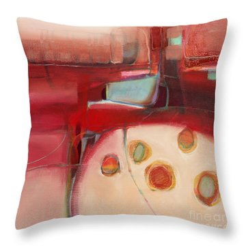 Dory On The Quay Throw Pillow by Michelle Abrams