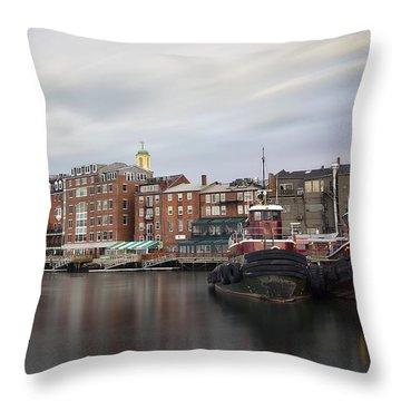 Dos Amigos Throw Pillow by Eric Gendron