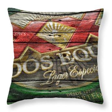 Dos Equis Throw Pillow by Joe Hamilton