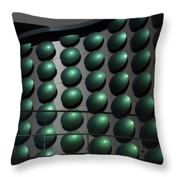 Throw Pillow featuring the photograph Dots by Glenn DiPaola