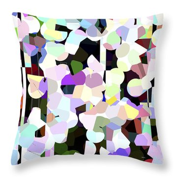 Dotted Car -part 1 Throw Pillow
