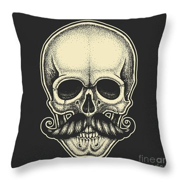 Human Bone Throw Pillows
