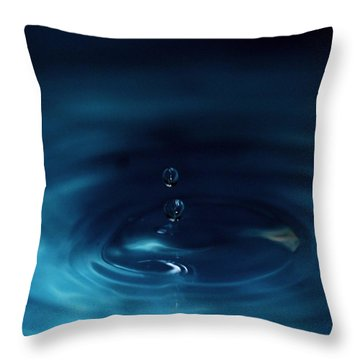 Double Bonanza  Throw Pillow by Ramabhadran Thirupattur