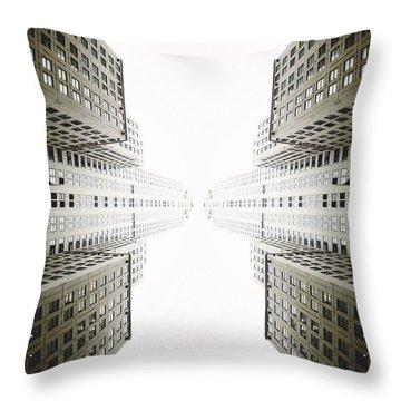Double Deco Throw Pillow