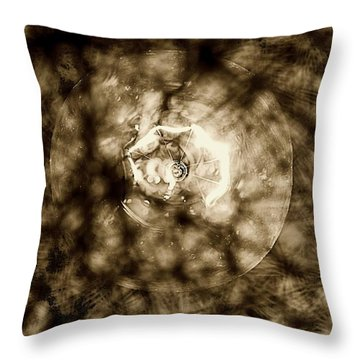 Double Insider Throw Pillow by Yevgeni Kacnelson