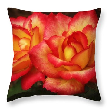 Double The Delight Throw Pillow