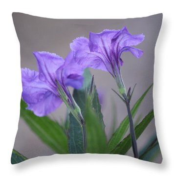 Double The Pleasure Throw Pillow by Penny Meyers