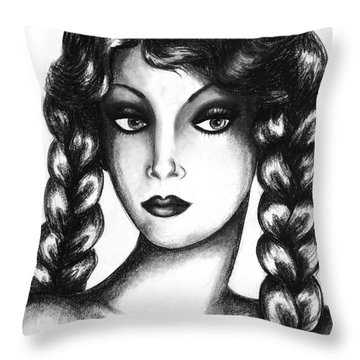 Doubt Throw Pillow