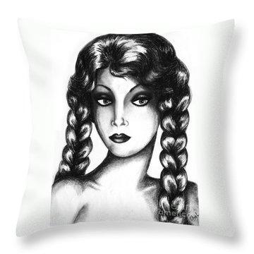 Doubt Throw Pillow