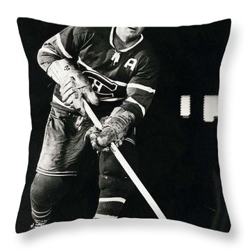 Doug Harvey Poster Throw Pillow by Gianfranco Weiss