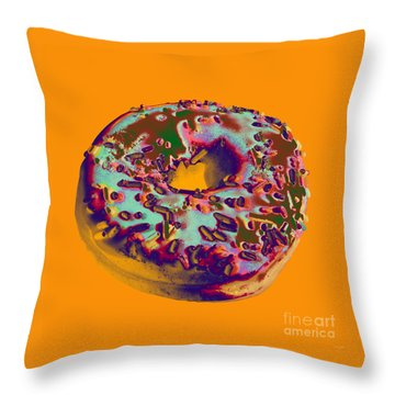 Doughnut Throw Pillow