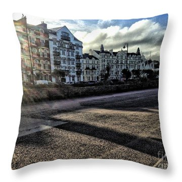 Douglas Sunset Throw Pillow