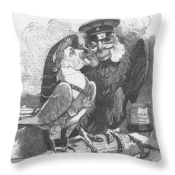 Dove Of Peace Editorial Art Throw Pillow
