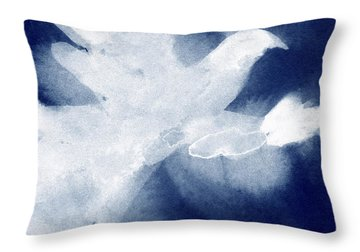 Dove Watercolor Painting Of Birds Throw Pillow by Beverly Brown