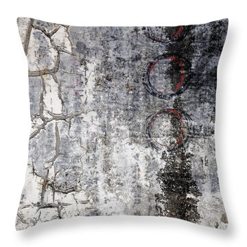 Down The Highway Throw Pillow by Carol Leigh