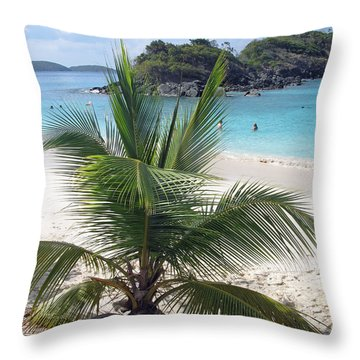 Down And Out In Paradise Throw Pillow