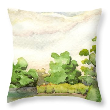 Downriver Napanee Throw Pillow