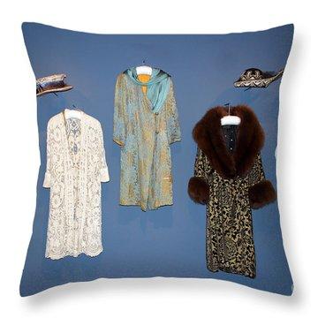Downton Abbey Clothes Throw Pillow