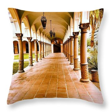 Downtown 2  Throw Pillow