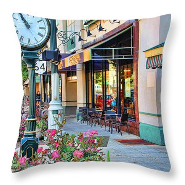 Downtown Bowling Green Throw Pillow