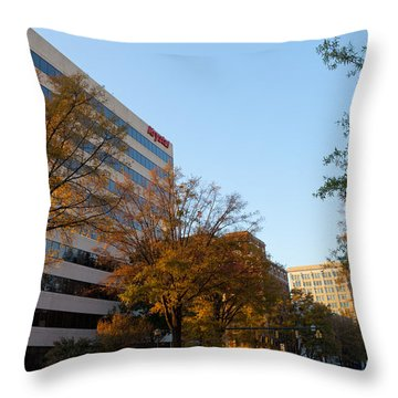 Downtown Chattanooga Throw Pillow