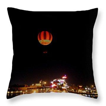Downtown Disney Throw Pillow